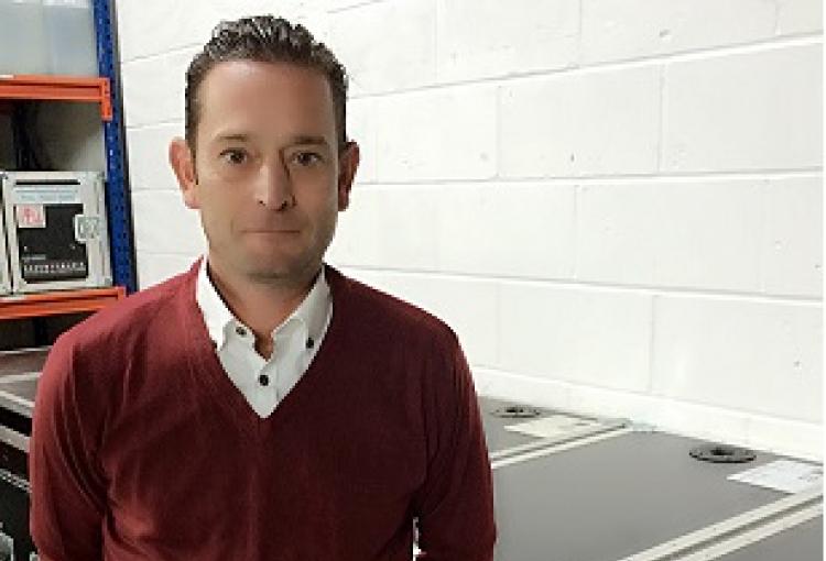 Laser Grafix UK welcomes Richard Hawkins