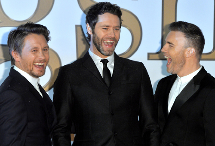Take That to appear live in Dubai