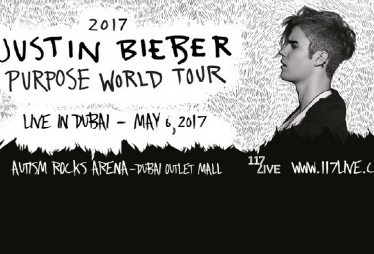 Justin Bieber heading to Dubai in May