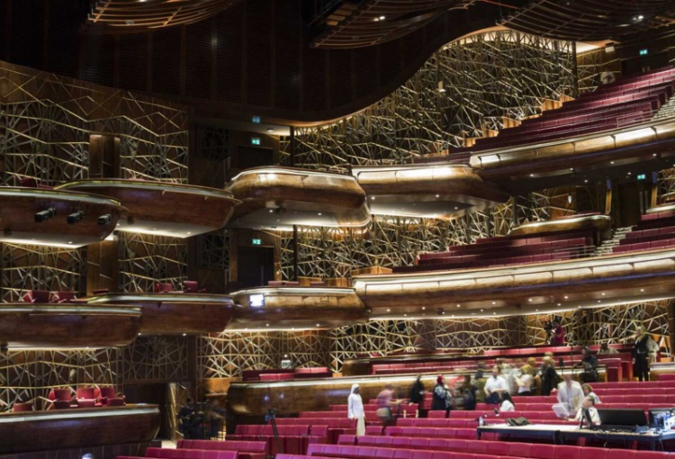 Stunning photos of Dubai Opera opening night