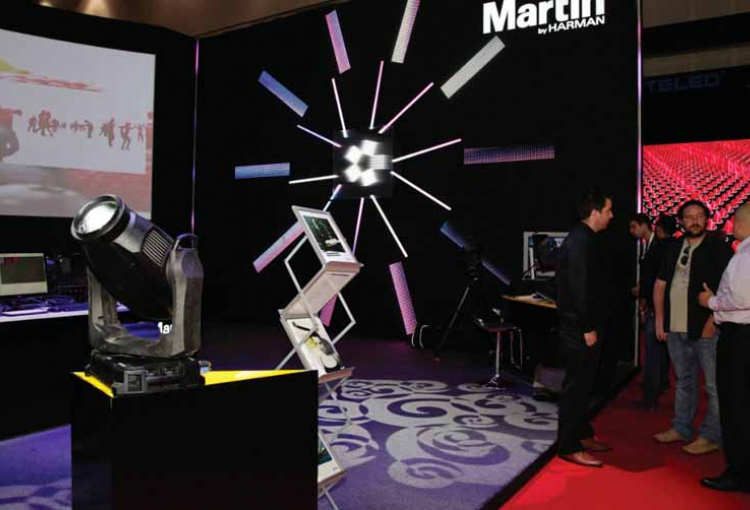 Martin Professional ME to distribute Harman in KSA