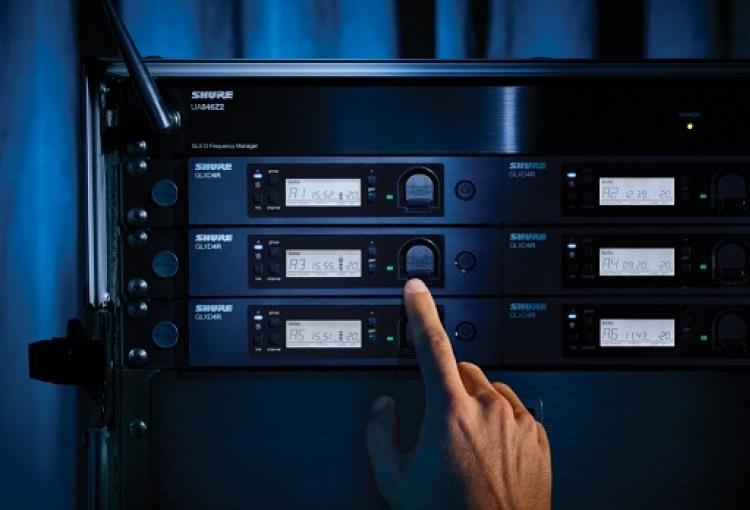 Shure launches GLX-D Advanced Digital Wireless kit