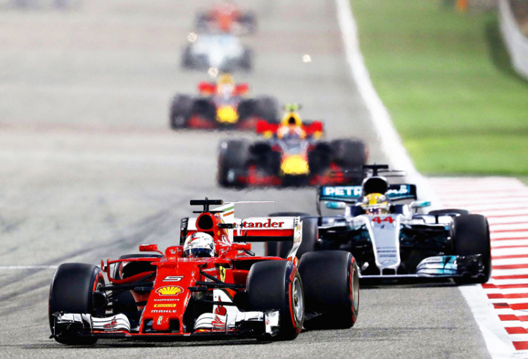 Riedel in the fast lane with Formula One