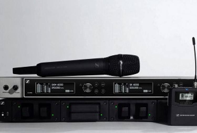 Sennheiser takes Digital 6000 on tour