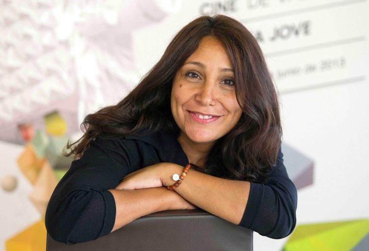 Saudi female film director wins top award for cultural leadership