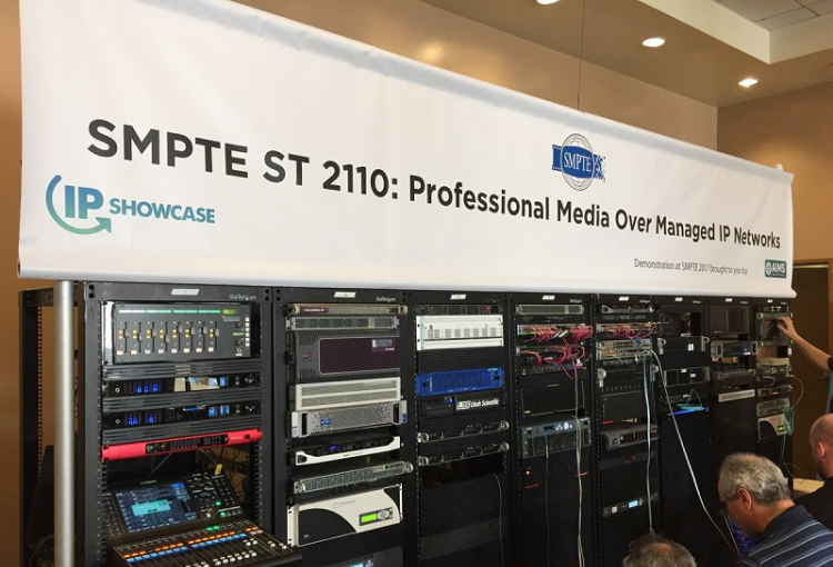 SMPTE has published the ST 2110 Standards for Professional Media Over Managed IP Networks.