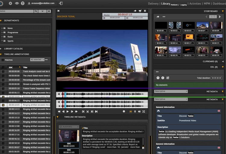 Tedial to Bring automated highlight engine product Smart LIVE to NAB 2018