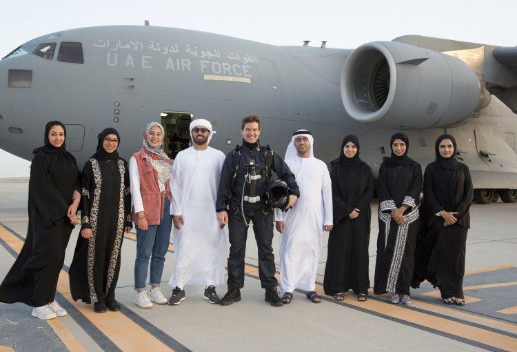 Tom Cruise Films Mission Impossible - Fallout in Abu Dhabi
