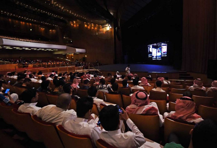 Saudi cinemas won't open to general public until May