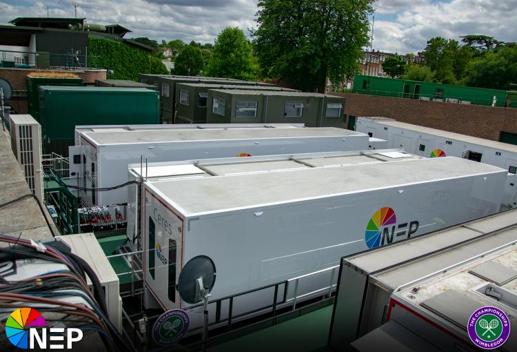 NEP UK provides first fully IP based Wimbledon broadcast