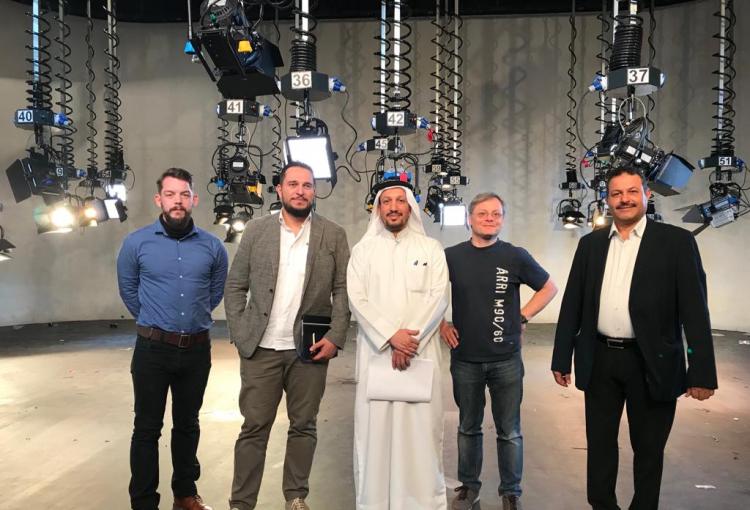 UBMS completes studio lighting for Saudi Broadcast Authority's Studio C