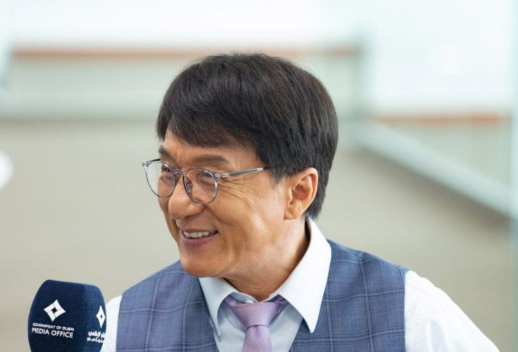 Movie star Jackie Chan hails Dubai as filming destination