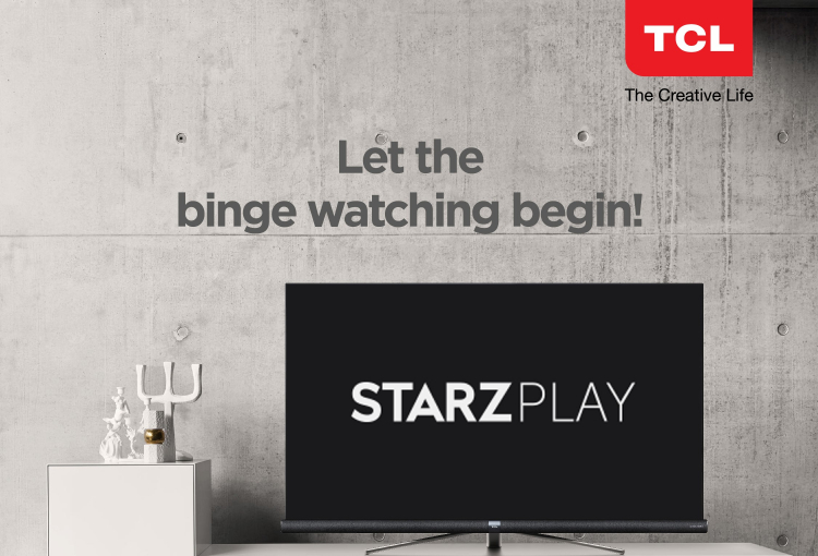 Starz Play available on TCL televisions