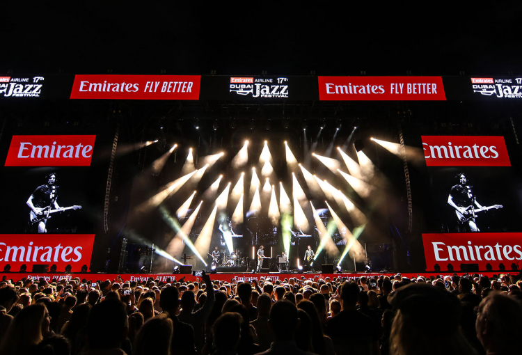 Robe lights up Dubai Jazz Festival