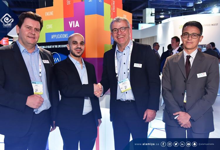 Saudi based Alamiya signs deals with EVS, Vizrt and Canon at NAB