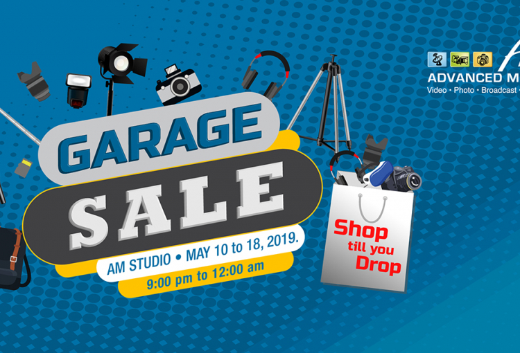 Advance Media holds garage sale during the holy month of Ramadan for cinema, video and photography equipment and accessories