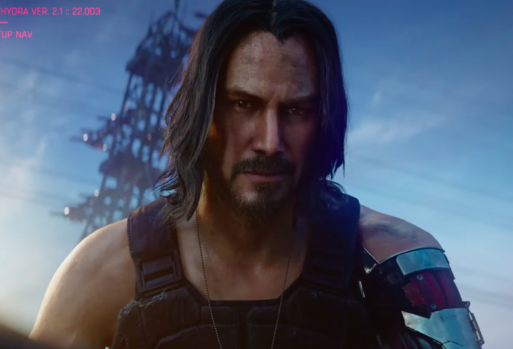 Keanu Reeves will play a character in video game Cyberpunk 2077