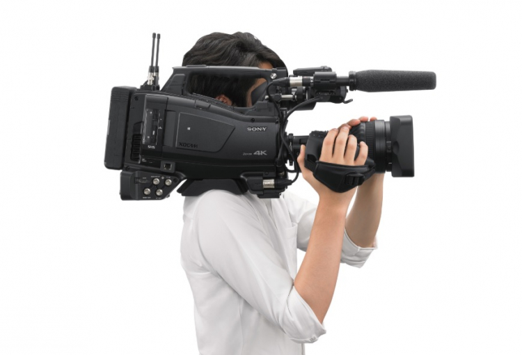 Sony launches first-ever 2/3-type shoulder camcorder