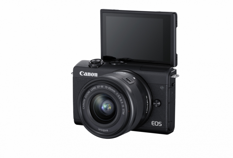 Canon EOS M200 launched with DIGIC 8 processor and 4K movie