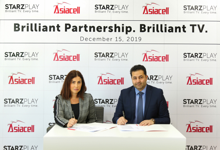 StarzPlay and Asiacell announce partnership to target Iraq market
