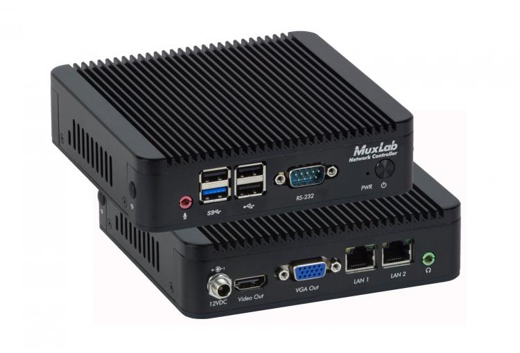 MuxLab ships network controller for anywhere AV access