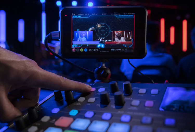 Atomos and Roland collaboration streamlines control of multicamera content capture