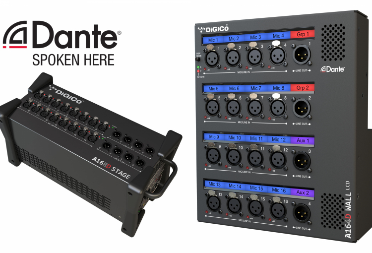 DiGiCo launches A164D Wall LCD and A168D Stage