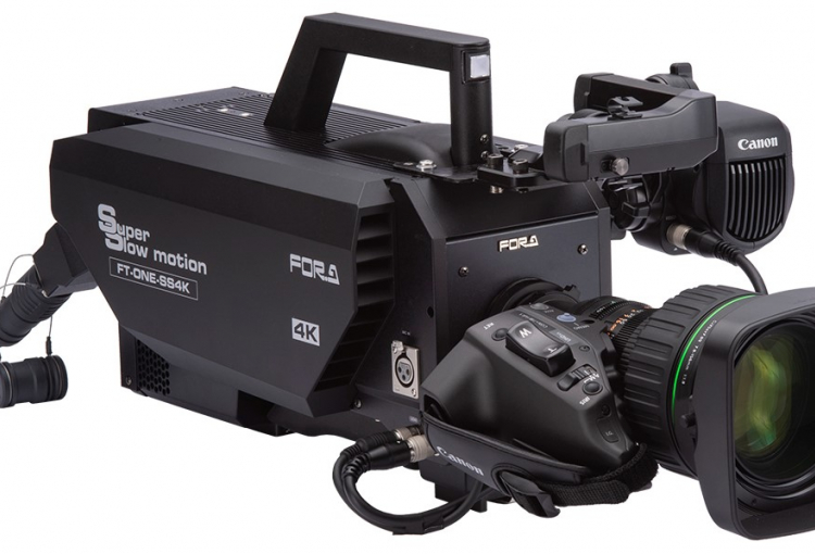 New FOR-A camera can capture 4K at 1,000 fps for live production