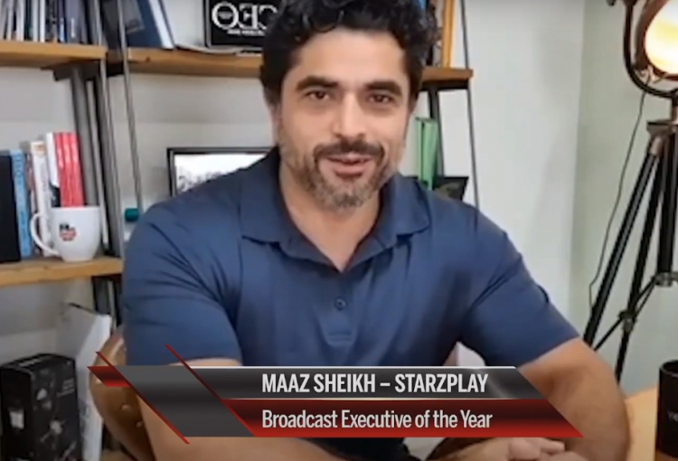 Maaz Sheikh crowned Broadcast Executive of the Year 2020