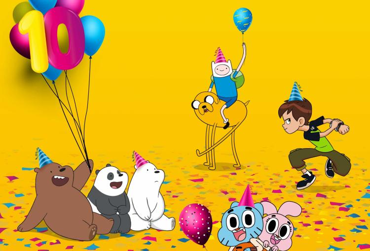 Cartoon Network Arabic turns 10
