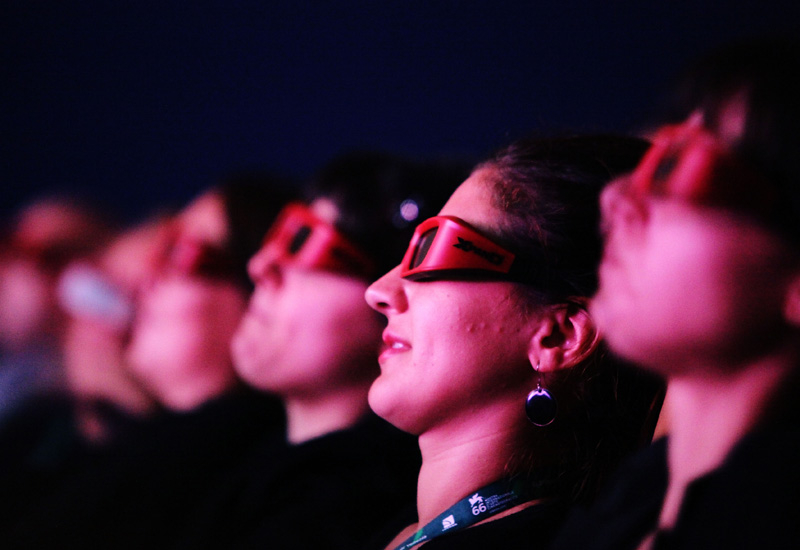 3D movies helped the European box office to 12% growth in 2009.