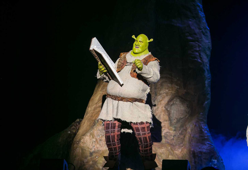 Shrek The Musical brought the animated favourite to life on stage in the UAE. Image: Shahab Nn (behance.net/shahabn)