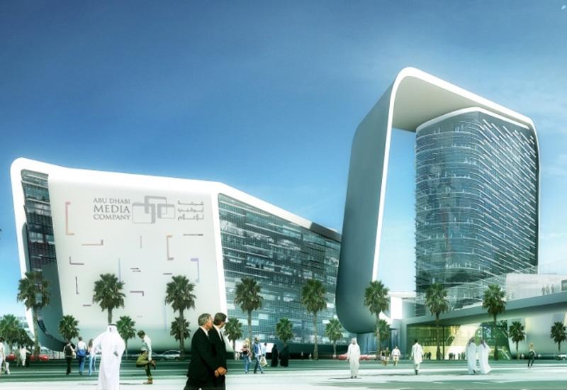 Abu Dhabi Media Company's headquarters in the capital.