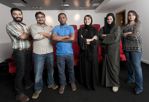The six budding filmmakers for 2015's edition.