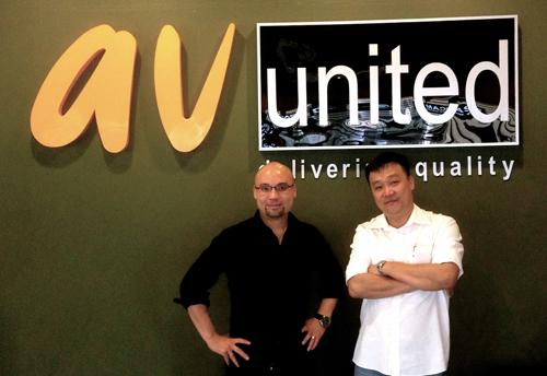 AV United, Ken Kimura & Chin Foo Heng