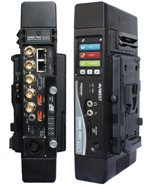 AVIWEST's DNMG products enable broadcasters to capture and broadcast live HD or SD video over multiple networks