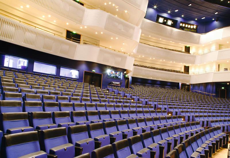 The Aalto-Musiktheater Essen.