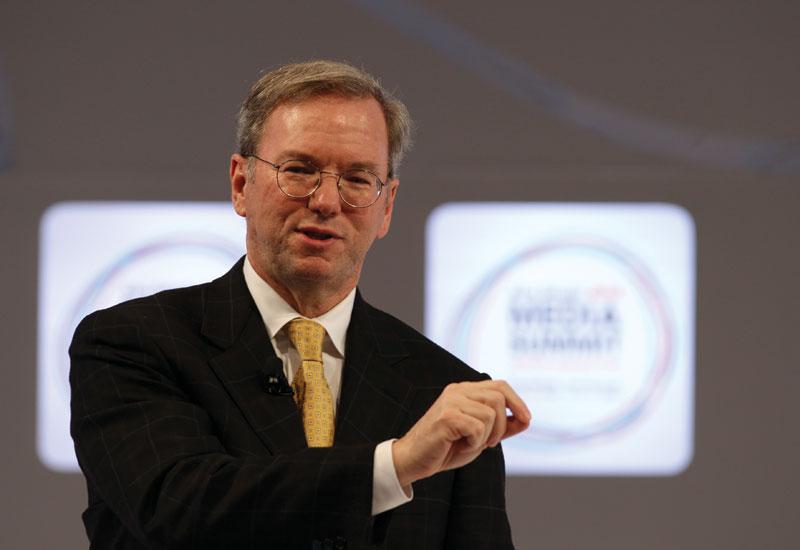 Eric Schmidt, CEO, Google.
