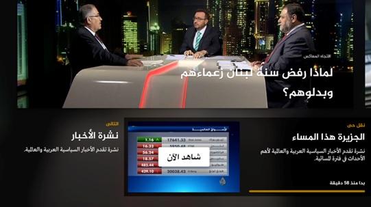 Al Jazeera Arabic, Al Jazeera Arabic now available on Apple TV, Apple TV, Available, Doha, Streaming, Video on demand, News, Delivery & Transmission