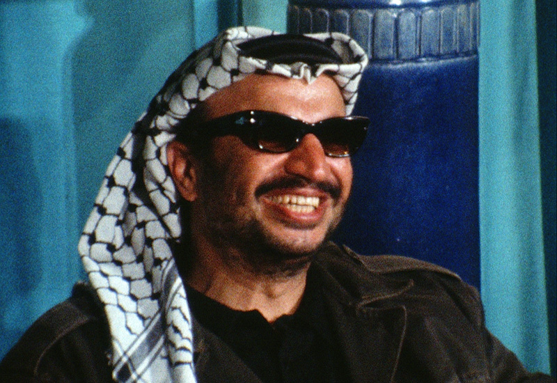 Yasser Arafat at the Arab leaders meeting in Cairo's Sheraton hotel, 1971.