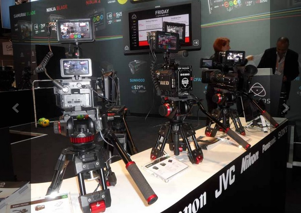 Atomos demonstrated its full range of products at IBC in September.