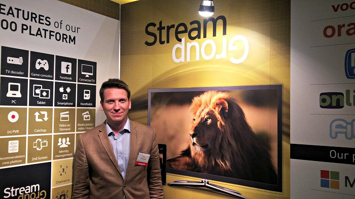 Bas Elvé, sales manager, StreamGroup