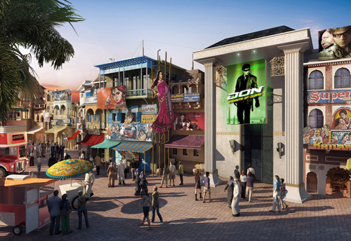 The park is set to open in 2016.