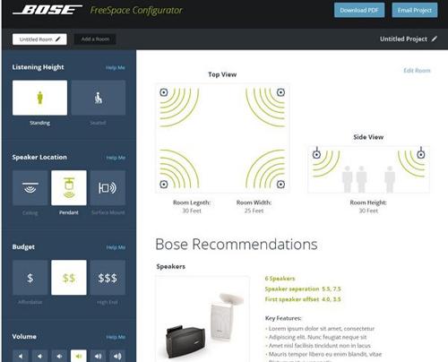 2014, Audio, Bose, Design, Freespace, Infocomm, InfoComm 2014, Interface, Sound, User, News, Content management