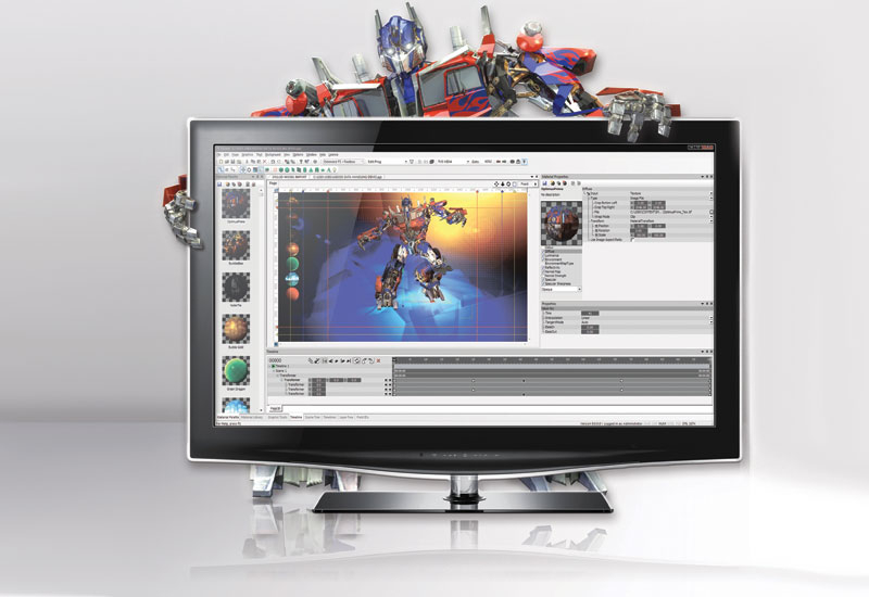 3D graphics system, BrandMaster, Clarity graphics software, Gui, Pixel power, SPECIAL REPORTS, CABSAT 2010, Exhibitions coverage