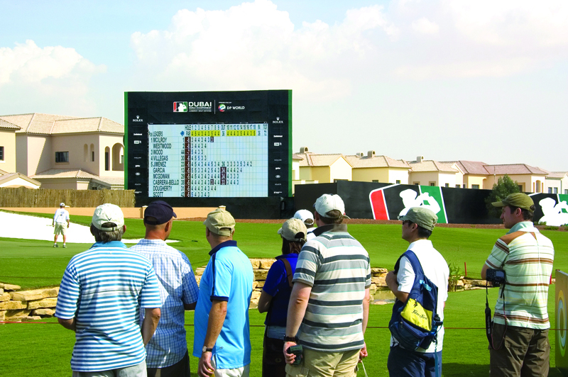 Creative Technology, Dubai World Championship, Golf, LED screens, Lighthouse, News, Content production