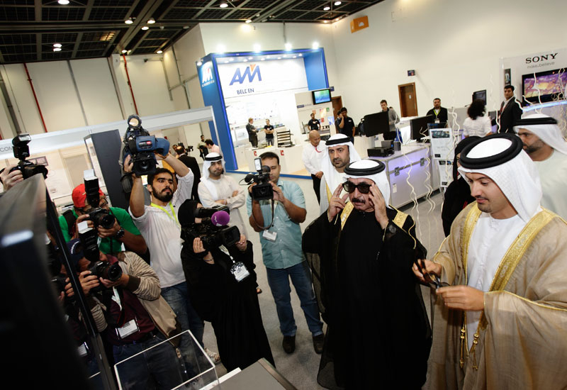 CABSAT is the region's biggest exhibition for the production and broadcast industries.