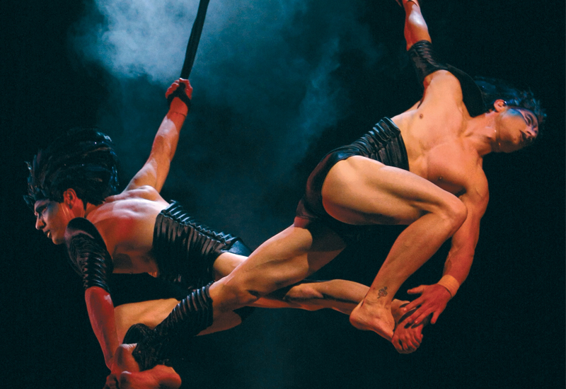 Under the accords, Cirque du Soleil will bring high-wire acts to the capital Riyadh