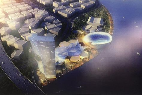 The major new conference centre will be built on the shores of Dubai Creek.