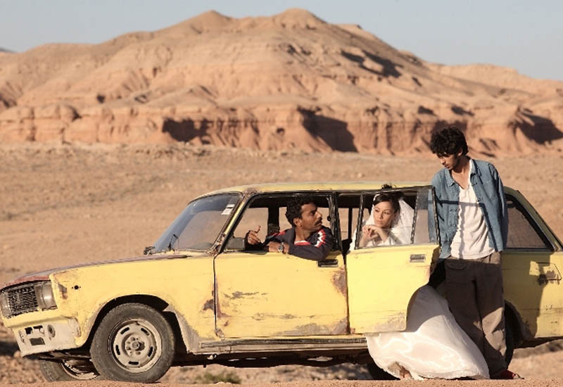 A scene from Masquerades, which won the best Arab film award for Muhr last year.